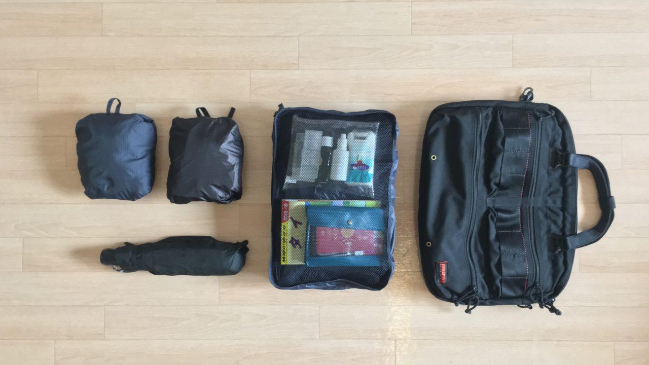 【3泊4日】タイ旅行はショルダーバッグ一つでOK【持ち物リスト】