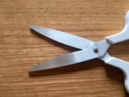 切れ味のひみつは刃のカーブ